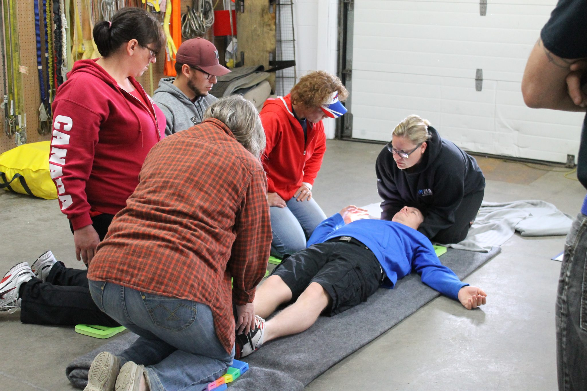 first aid training at natt safety services in lively ontario