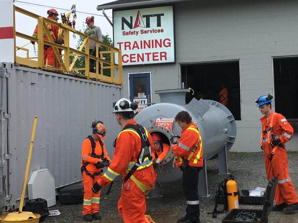 Confined Space Rescue sudbury NATT Safety Services