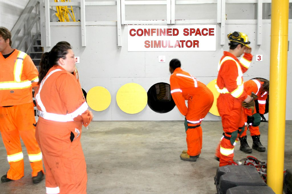 confined space training NATT Safety Services
