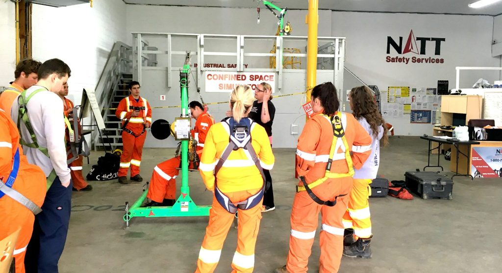 confined space training course canada