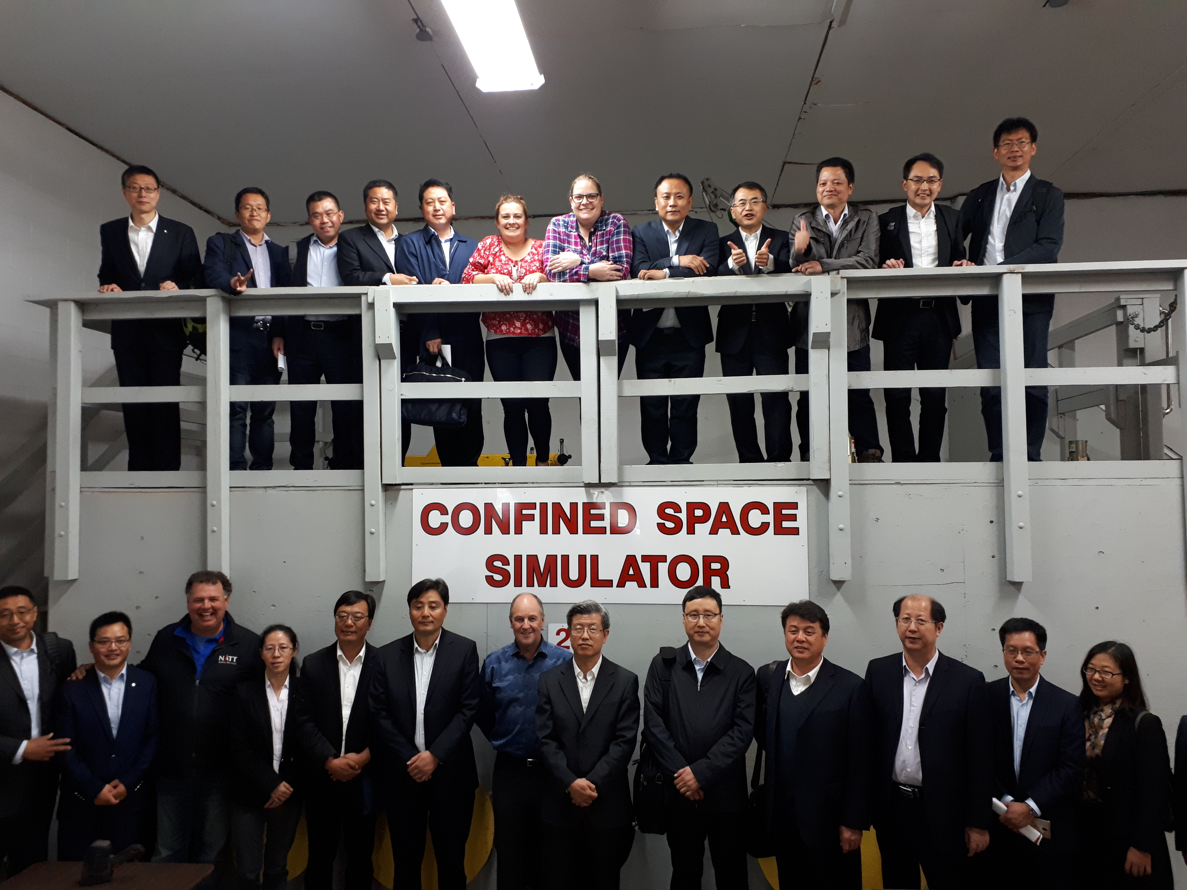 Chinese Delegates Visit NATT Safety Services Training Centre