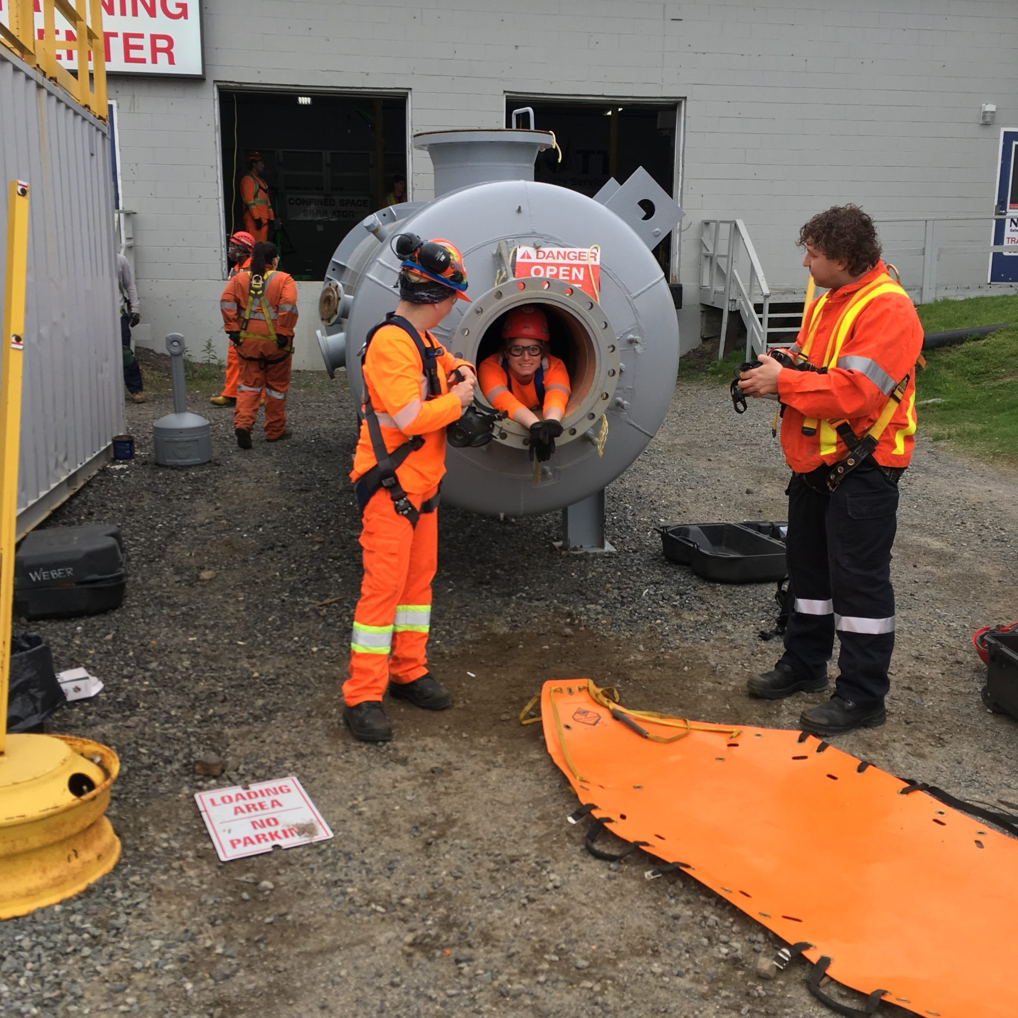confined spaces NATT Safety Services