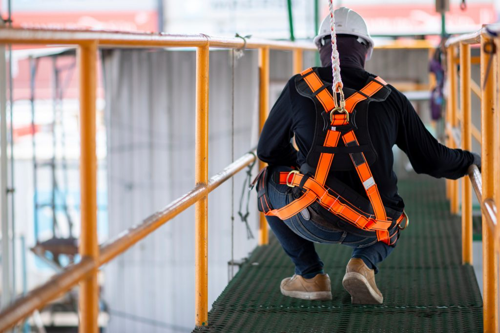 working at heights training Ontario